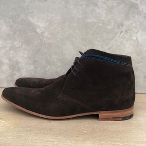 Barker Hopper Suede Chukka Boots made in England